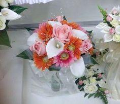 Pink-Hot-Pink-Orange-Calla-Lily-Gerber-Daisy-Bridal-Bouquet-Wedding-Flowers