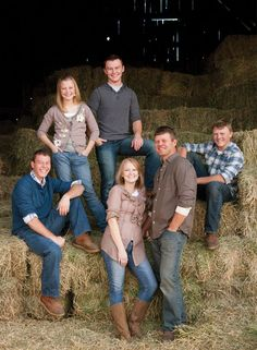 More ideas for family photos on the farm!