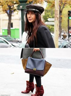 My Streetstyle Paris Fashion Week IV | Collage Vintage