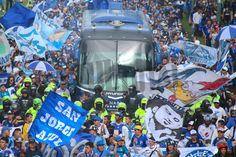Así despidió la hinchada de Millonarios al equipo previo a las semifinales San, Club, Football Team