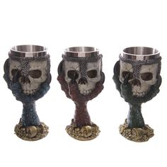 Decorative Dragons Claw and Skull Goblet Looking for something a bit different to give as a gift Then check out our range of novelty gothic and