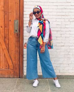 Modest Outfits, Casual Outfits, Cute Outfits, Frock Fashion, Fashion Dresses, Muslim Fashion, Modest Fashion, Hijab Outfit, My Outfit