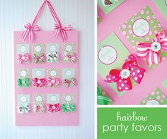Party favors for little girls.