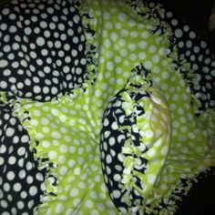 DIY tie blanket and tie pillow case. Just buy a little extra to do the affe4a0c3