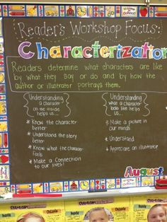 Reader's Workshop!Characterization-- inside & outside traits and a lesson on how characters change within a text!
