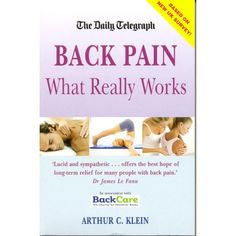 Back Pain What Really works