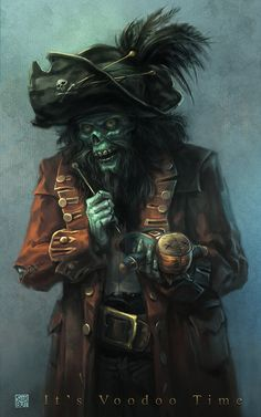 Voodoo Time by Scorbut Man | Fan Art | 2D | CGSociety