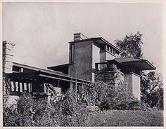 Read more about the most ill-fated Frank Lloyd Wright house in America here http://www.house-crazy.com/the-tragedy-of-frank-lloyd-wrights-taliesin-house/