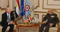 Egyptian Defense Minister confirms the strength of Egyptian-American relations in his meeting with the US Congress delegation