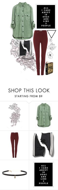 """""""guac."""" by kara-sevda ❤ liked on Polyvore featuring Dickins & Jones, Keds and Carbon & Hyde"""