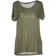 Only T-shirt ($32) ❤ liked on Polyvore featuring tops, t-shirts, military green, sequin short sleeve top, military t shirts, green tee, military green t shirt and short sleeve t shirts