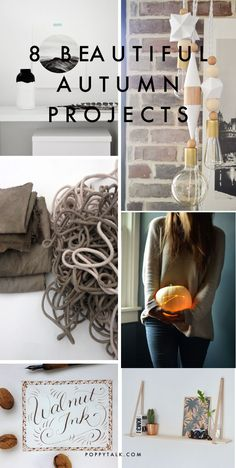 Poppytalk: 8 Beautiful Autumn Weekend Projects