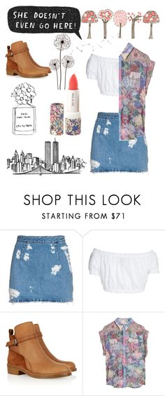 """spring fling"" by e-pytches ❤ liked on Polyvore featuring Acne Studios, GERMAN PRINCESS, Zimmermann and Paul & Joe"