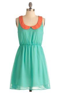 #vestido #mujer #modcloth verde #tiendaropa