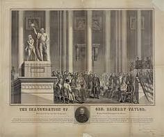 1849 Presidential Inauguration of President Zachary Taylor Presidential History, Presidential Inauguration, Millard Fillmore, Zachary Taylor, Branch Of Service, Mexican American War, Military Careers, Political Beliefs, Great Novels