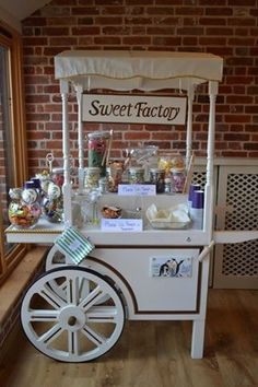 Sweet trolley for our wedding was a huge hit!