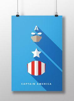 Captain America by Moritz Adam Schmitt
