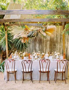 La Tavola Fine Linen Rental: Adelaide Smoke | Photography: The Poffs, Venue: California Ranch Events, Event Design & Planning: Bari Elexa Events, Florals: Tumbleweed Floral Design, Paper Goods: Kelly Design Co, Tabletop: Pleasanton Rentals, Furniture: Found Rentals