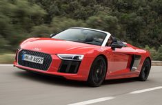 The Audi Plus is an update to the Audi that was debuted in The car features lightweight materials (aluminium and carbon fibre) for construction and is designed and manufactured by Quattro GmbH. The car is available as a coupe and as a spyder. Audi R8 Sport, Sport Cars, Audi 2017, Audi R8 V10 Plus, Convertible, Mercedes Benz, Porsche, Automobile, Bmw