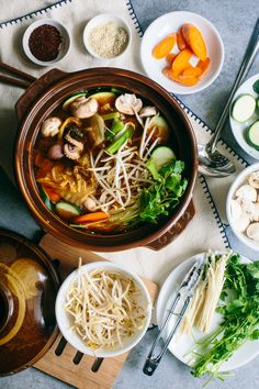 Nakji Jeongol (낙지전골) is a Korean octopus stew that deserves a bit of primer, since the world of Korean soups and stews can be pretty intimidating. In Korea, most meals are accompanied with some for…