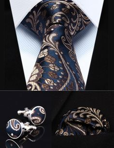 Cheap blue paisley, Buy Quality mens ties directly from China square tie Suppliers: Party Wedding Classic Pocket Square Tie Navy Blue Paisley Silk Men Tie Necktie Handkerchief Cufflinks Set Mens Suit Accessories, Paisley, Navy Blue Suit, Stylish Mens Fashion, Fashion Suits, Men's Fashion, Wedding Ties, Party Wedding, Cufflink Set