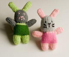 króliczki na drutach