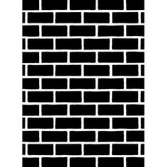 Darice®+4.25+x+5.75+Embossing+Folder:+Brick+Pattern+