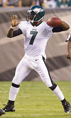 Though he has not played more than 13 games in either of his last two seasons, Michael Vick is a must-start anytime he plays. Football Stuff, Football Helmets, Football Injuries, 13 Game, Michael Vick, Go Eagles, Nfl Philadelphia Eagles, Best Hero, Sports Baby