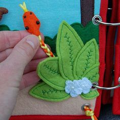 Piratebook 2 Quiet book pages Jungle PATTERN & TUTORIAL