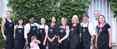 HeartistryExperience- Bless not Impress aprons and we are ready to serve.