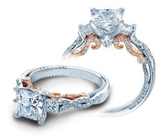 INSIGNIA-7074P-TT engagement ring from The Insignia Collection of diamond engagement rings by Verragio