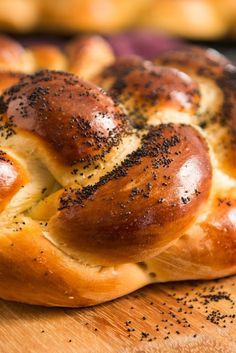 NYT Cooking: The word challah originally meant only the small portion of dough that was put in the oven when baking bread as a reminder of the destruction of the Temple in Jerusalem. It has evolved into the twisted, sweet, almost brioche-like bread that was brought to America by immigrants from Central and Eastern Europe. Although straight loaves of braided challah are eaten throughout...