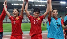 China women qualify for #Rio2016 too.