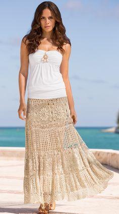 GRACE: Crochet Skirt Pattern – Crochet Tutorial in English