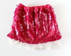 sequin kids skirt DIY