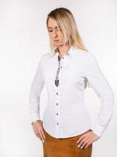 Koszula damska w stylu myśliwskim