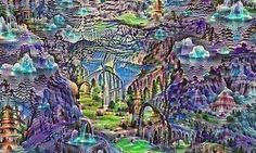 Another dreamscape by Google's Deep Dream