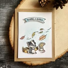 https://flic.kr/p/PrD4s2 | Fall | Using Neat & Tangled Into The Woods stamp set.