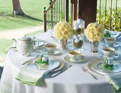 Celebrate golf's premier invitational tournament with a Masters Tea.