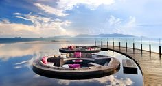 W Hotel in Koh Samui, Thailand. Ummm...seriously? I need to be there now. travels