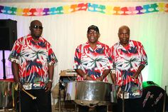 steel band at 21st birthday party at The Garden Barn