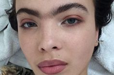 Model with unibrow speaks out about being labelled an 'ogre' #Lifestyle #iNewsPhoto