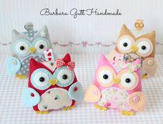 Barbara Handmade...: Sówki,sówki../ Owls,owls...