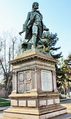 TORINO (Piemonte) - Corso Galileo Ferraris - monumento a Pietro Micca - by Guido Tosatto