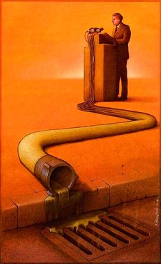 Satire and Social Commentary Paintings, Paul Kuczynski Art Gallery Best Picture For Language Art background For Your Taste You are looking for something, and it is going to tell you exactly what you a Art And Illustration, Perspective Artists, Pictures With Deep Meaning, Digital Foto, Satirical Illustrations, Art Illustrations, Meaningful Pictures, Deep Art, Arte Obscura