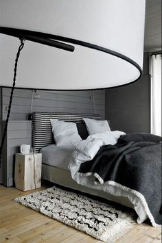 Re: comforter. Something like this for Simon's room... a dark grey comforter with a little texture?
