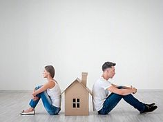 Buying a home after getting divorced: Getting divorced is tough, and buying a new home afterwards may be just as hard, especially if you still co-own a property with your former spouse. Getting Divorced, Buying A New Home, Step Guide, The Borrowers, Improve Yourself, New Homes, Real Estate, House, Things To Sell