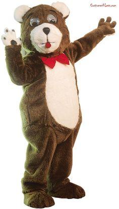 Teddy Bear Mascot Costume#Bear, #Teddy, #Costume Funny Halloween Costumes, Mascot Costumes, Halloween Fun, Spice Girls Costumes, Adult Costumes, We Bear, Event Marketing, Arts And Crafts, Teddy Bear