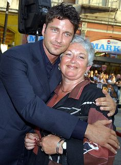 Best of Gerry -  Gerroff him you hussy ! .....Oh sorry, you're his beloved Mum, Margaret, Now we know where those good looks and beautiful eyes come from.