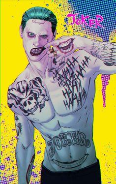 Jared Leto Joker by MONKO | Joker fan art | Jared Leto Joker | List of Joker tags |